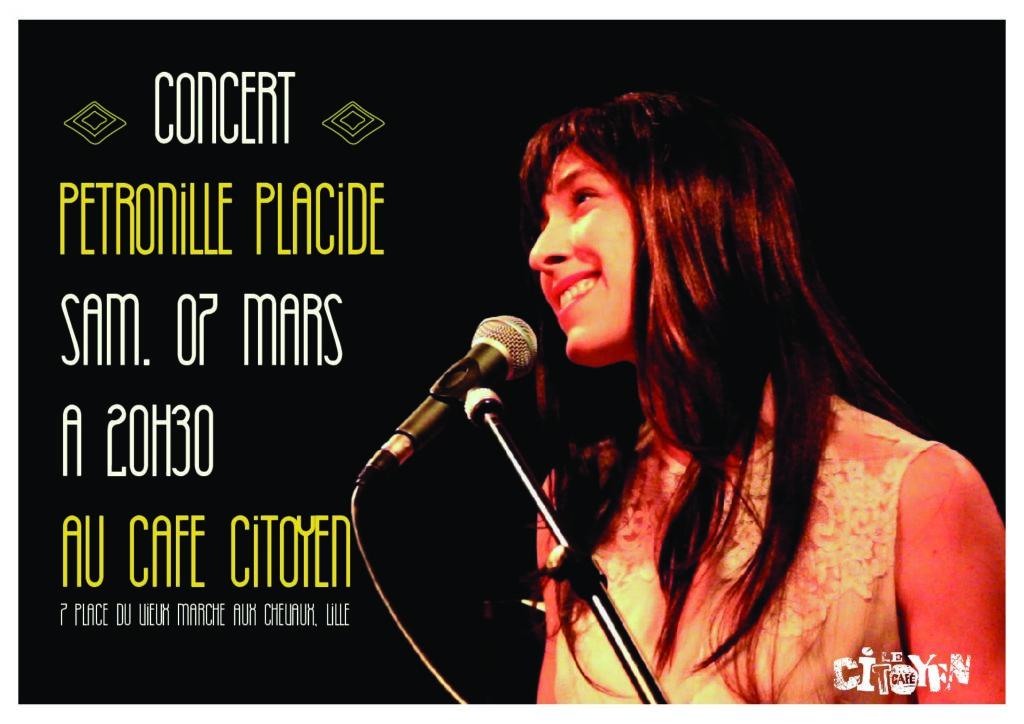 Concert de Pétronille Placide - SAM. 7 MARS 2020 à 20h30